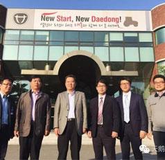 天鹅集团赴韩国开展考察访问