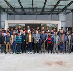 孟加拉国客商组团访问天鹅集团