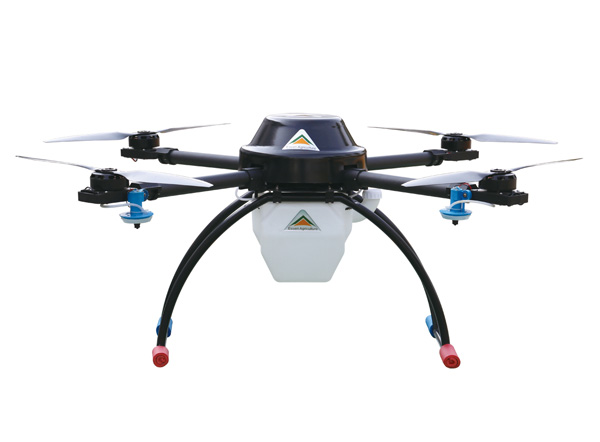 10kg级无人植保四旋翼机